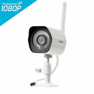 Zmodo 1080P Indoor Outdoor Wireless Home Video Security Smart IP Camera IR Night