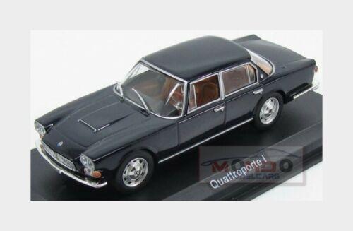 Maserati Quattroporte 1963 Black Edicola 1:43 MASCOL005 Modellbau