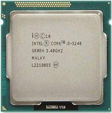 Intel i3 3240 CPU 3.4 GHz 3M LGA1155 55W desktop 2 Cores 4 Threads SR0RH Tested