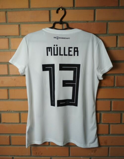Germany Muller Jersey 2018 Home Size XL Shirt Adidas Football Soccer Trikot