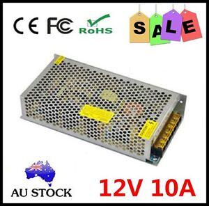 Led 5050 3528 Converter AC100-240V - DC 12V 10A 120W Transformer Supply Adapter