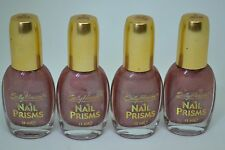Lot of 4 Sally Hansen Nail Prisms 13ml -Pink Rose Diamond-