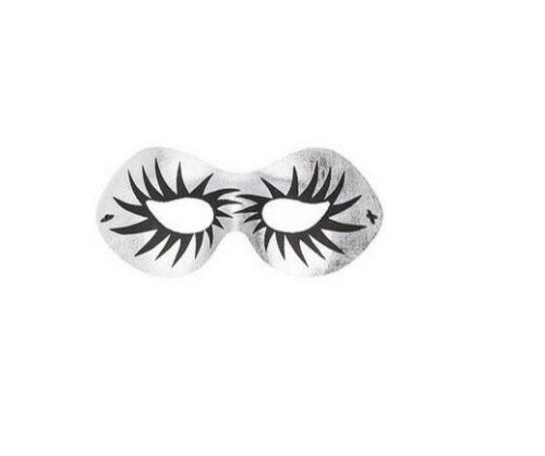 Silver and Black Maquillage Half Eye Mask