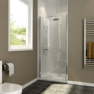 Image Is Loading 700 760 800 900mm Frameless Pivot Shower Doors