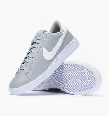 the best attitude c80bb 24dd0 New Nike Tennis Classic CS Mens Trainers Wolf Grey White Sz 9 (683613-