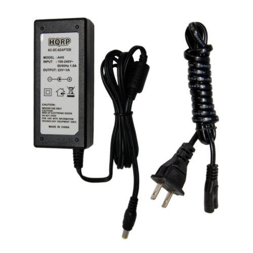 HQRP AC Adapter for Kicker 08IZK500PS 08IK500 08ZK500 09IK501 KSAS0652200270M2