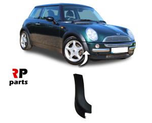 Para Mini Cooper 2001 R50 2004 nuevo parachoques delantero derecho de ajuste de plástico exterior o//s