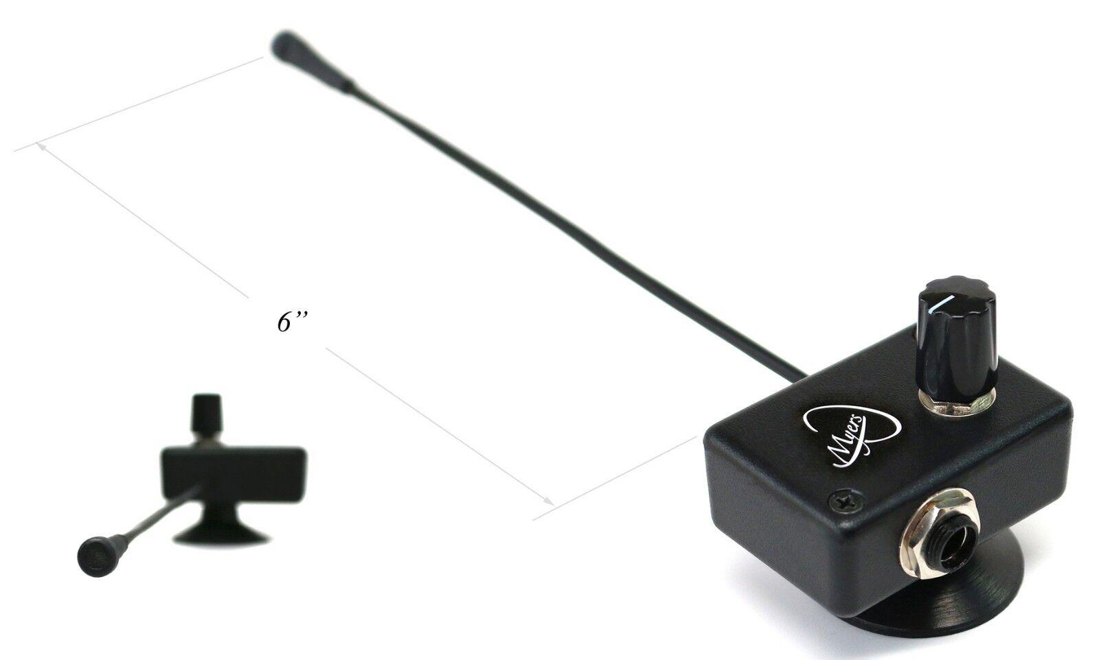 Micrófono cromática Autoharp por Myers Myers Myers Pickup  ¡no ser extrañado!