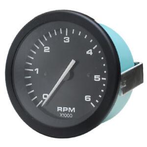 Teleflex-Boat-Tachometer-Gauge-780048PMN8-Hurricane-Series-3-1-4-Inch