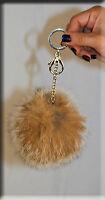 Canadian Lynx Fur Key Chain - Extra Large Size - Efurs4less