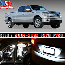 16PCS Xenon White LED Lights Interior Package Deal Kit For 2004-2012 Ford F150