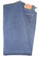 Vintage Replay Button-fly Dark Blue Jeans 32 Waist 32 Inseam Made In Italy
