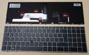 original Tastatur hp ZBook 15 17 G5 G6 backlit Keyboard Beleuchtung QWERTZ