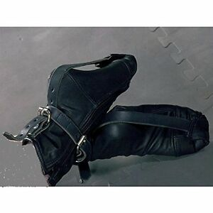 leather pup paws bondage