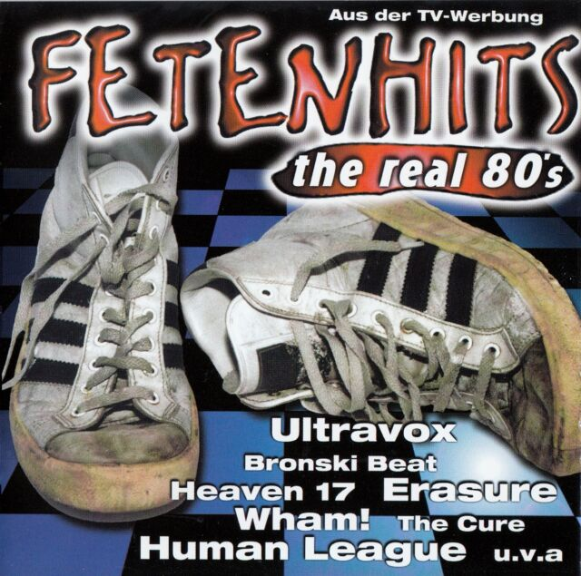FETENHITS - THE REAL 80'S / 2 CD-SET - TOP-ZUSTAND
