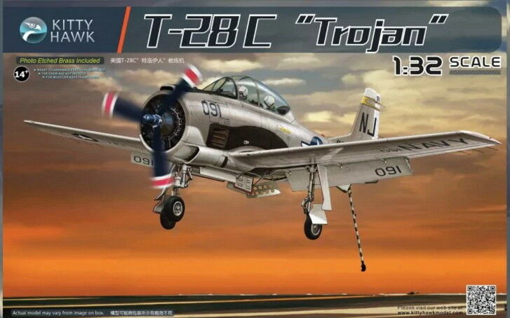 Kitty Hawk Models 1 32 US T-28C  Trojan