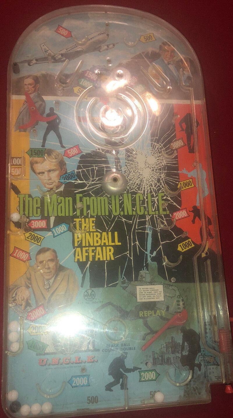 Antiguo la vieja escuela 1966 el asunto de Pinball  el hombre de u.n.c.l. e