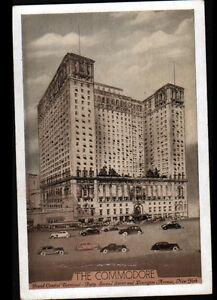 """NEW YORK (U.S.A.) HOTEL """"GRAND CENTRAL TERMINAL / THE COMMODORE"""" vers 1930 - France - État : Occasion : Objet ayant été utilisé. Consulter la description du vendeur pour avoir plus de détails sur les éventuelles imperfections. Commentaires du vendeur : """"CORRECT"""" - France"""