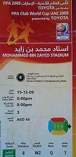 Ticket FIFA Club World Cup UAE 15.12.2009 Pohang Steelers-estudiantes la plata