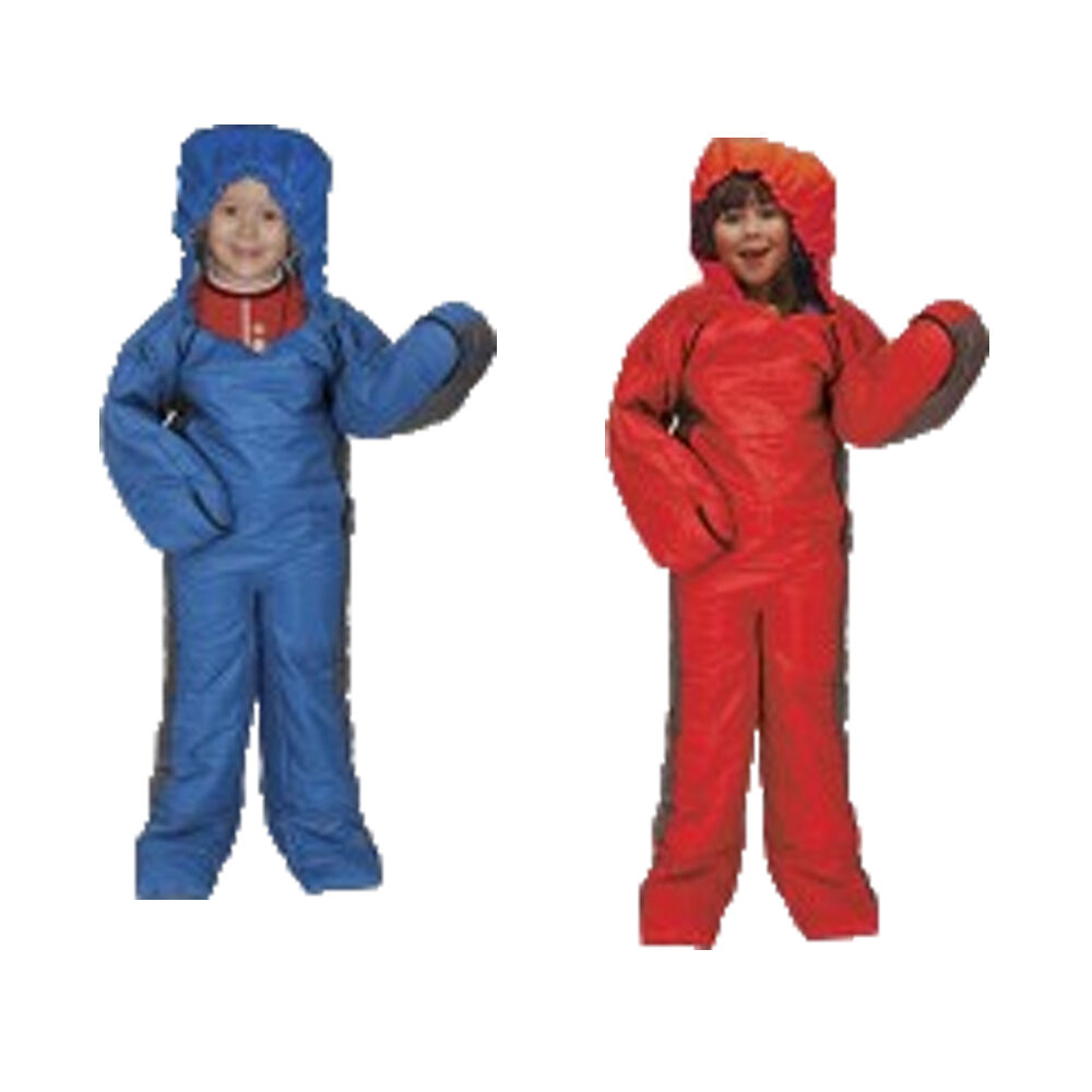 Summit Kids Motion Sac Camping Sleeping Bag Suit Festival Fishing Trek One Piece