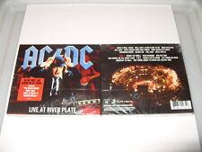AC/DC-LIVE AT RIVER PLATE 2 cd Digipak 2012 -19 TRACKS-BLUE COVER-NEW!!