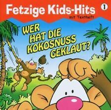 "CD Wer hat die Kokosnuss geklaut - Fetzige Kids-Hits ""1"" mit Jumping Jo - neu"