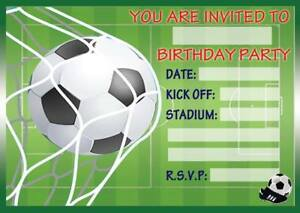 football party invitation thevillas co