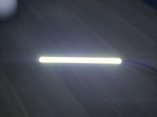6x Super Bright COB White Car LED Lights for DRL Fog Driving Lamp Waterproof 12V