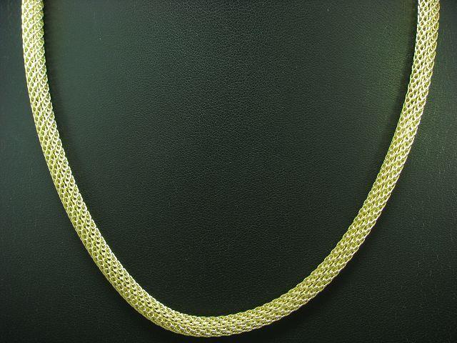 925 Sterling silver Collier   vergoldet   Echtsilver   43,8 cm   27,4g