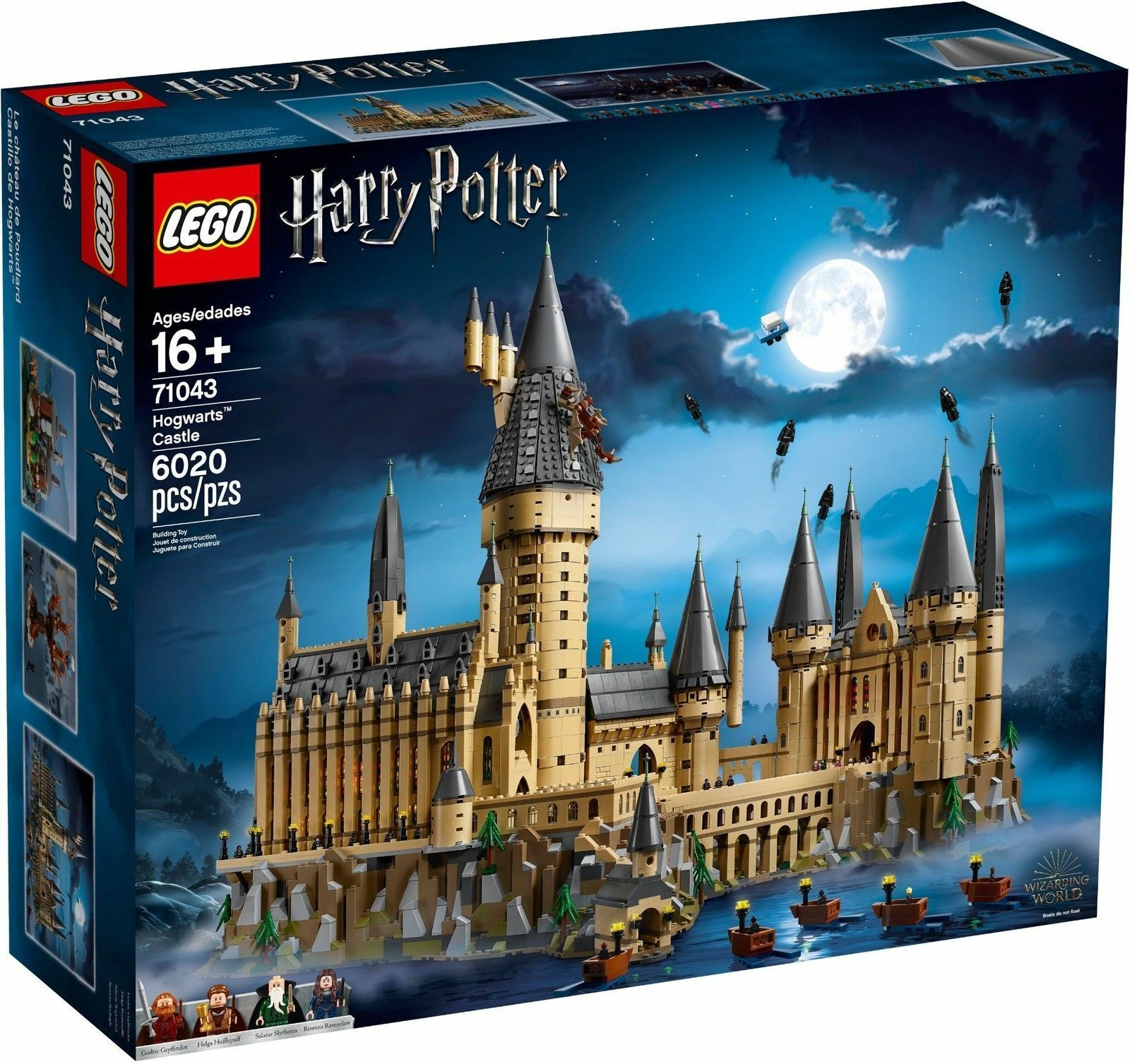 LEGO HARRY POTTER 71043  CASTELLO DI HOGWARTS    NUOVO