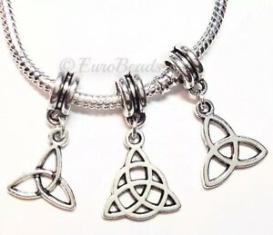 3PC-LOT-Triquetra-Beads-for-European-Charm-Bracelet-Celtic-Knot-Trinity-Irish-S7