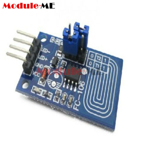 2PCS Capacitive Touch Dimmer PWM Control Panel Dimmer Switch Module DC 2.4-5V UK