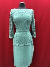 """ADRIANNA PAPELL DRESS /NEW WITH TAG/SIZE 16/RETAIL$160/ GREEN/LENGTH 40"""""""
