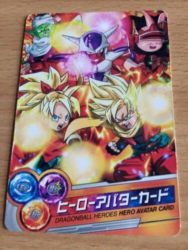 Carte Dragon Ball Z DBZ Dragon Ball Heroes Part SP #2012 Avatar Promo Card