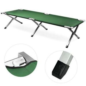 Outdoor-Portable-Folding-Cot-Military-Hiking-Camping-Sleeping-Bed-Fish-Full-Size