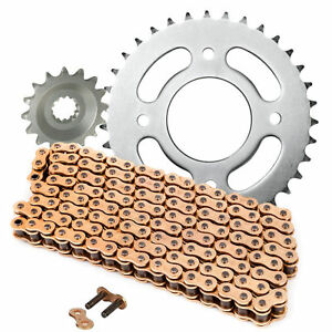 YAMAHA YZF R 125 2008-2015 HEAVY DUTY GOLD CHAIN DRIVE CHAIN 428-132 LINK Auto Parts & Accessories