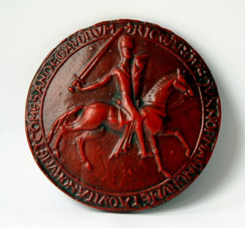 King Richard I LionHeart Great Seal English Medieval Reproduction Collectable
