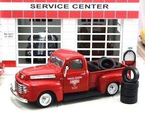 "New In Box  1/43 1948 FORD F-1 PICK UP  Truck ""Conoco"" with 10 Tires"