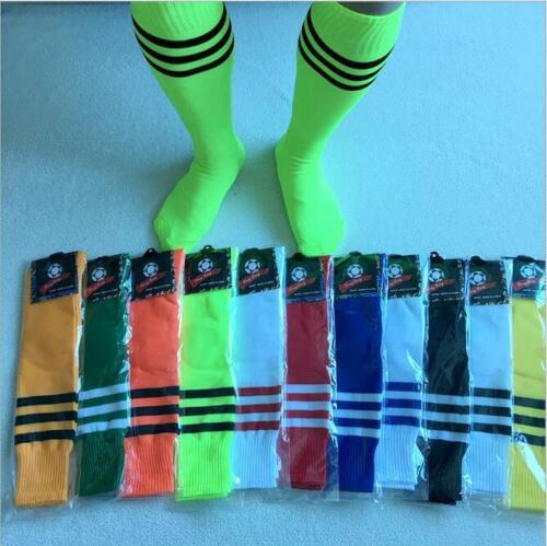 Women/'s High Striped Stocking Over Tube Knee Soccer Football Men/'s Long Socks