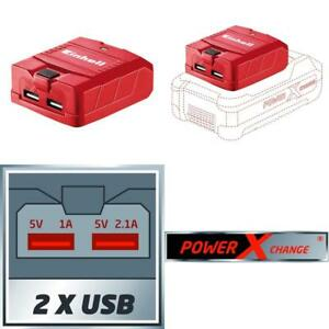 Einhell-Usb-Akku-Adapter-Te-Cp-18-Li-Usb-Solo-Power-X-Change-Lithium-Ionen-18