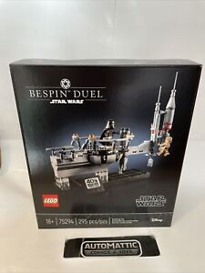 LEGO Star Wars Bespin Duel 75294 North American exclusive 295pcs RARE new sealed