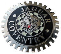 Jaguar Growler Xke Style Car Grille Badge C/w Grille Mounting Hardware