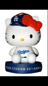 Hello Kitty Bobblehead LA Dodgers SGA 7-1-12