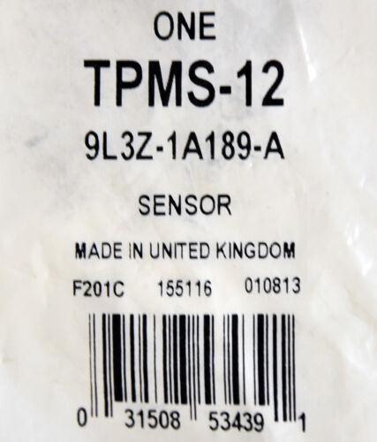 NEW OEM Ford TPMS Sensor Tire Pressure Monitoring System Valve Stem Mounted