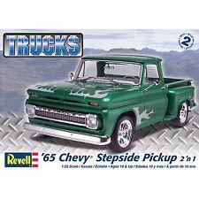 Revell Monogram '65 CHEVY STEPSIDE 2in1 Plastic Model Kit 1/25