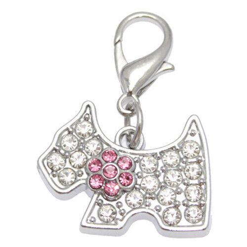 Remolque de pedrería perrito #4 pedrería//joyas con pedrería remolque para perros cuello Band
