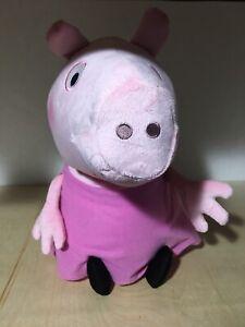 Peppa-Pig-Plush-in-Pink-Dress-18-039-039-Licensed-Stuffed-Animal-Toy