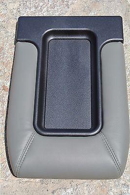 NEW GMC K1500 K2500 K3500 CONSOLE LID GRAY 2007 2008 2009 2010 2011 2012 2013