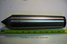 Used Carbide Tipped Dead Center With Morse Taper #6 For Grinder or Lathe