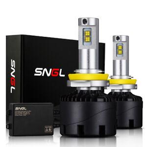 SNGL LED Headlight Conversion Kit H11 9005 9006 H13 H4 H7 H9